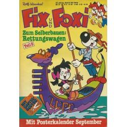 Fix und Foxi 27 Jahrg. Band 36 / 1979 - Gimmick: Rettungswagen