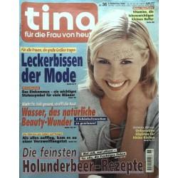 Tina Nr.36 / 3 September 1998 - Leckerbissen der Mode