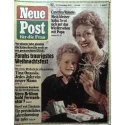 Neue Post Nr.52 / 22 Dezember 1979 - Caterina Valente
