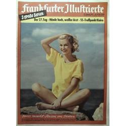 Frankfurter Illustrierte Nr.33 / 17 August 1957 - Doris macht...
