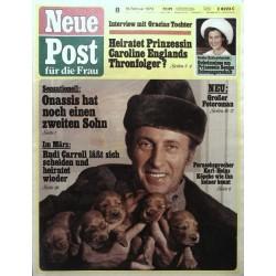 Neue Post Nr.8 / 19 Februar 1973 - Karl-Heinz Köpcke