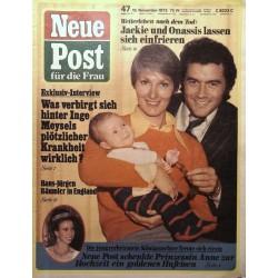 Neue Post Nr.47 / 19 November 1973 - Hans-Jürgen Bäumler