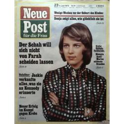 Neue Post Nr.23 / 4 Juni 1973 - Königin Anne Marie