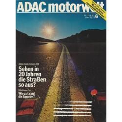 ADAC Motorwelt Heft.6 / Juni 1979 - Sehen in 20 Jahren die Straßen so aus?
