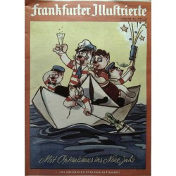 Frankfurter Illustrierte Nr.1 / 2 Januar 1960 - Mit Optimismus