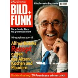 Bild und Funk Nr. 27 / 10 bis 16 Juli 1999 - Alfred Biolek