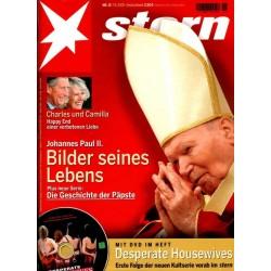 stern Heft Nr.15 / 7 April 2005 - Johannes Paul II.