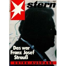 stern Heft Nr.2 / 7 Oktober 1988 - Das war Franz Josef Strauß