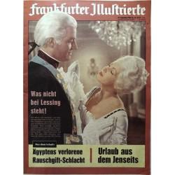 Frankfurter Illustrierte Nr.38 / 17 Sep. 1960 - Minna von Barnhelm
