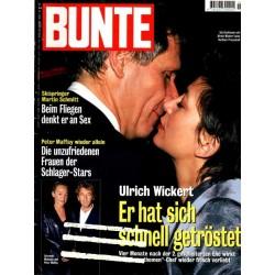 BUNTE Nr.3 / 14 Januar 1999 - Ulrich Wickert