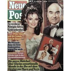 Neue Post Nr.5 / 23 Januar 1987 - Thurn und Taxis