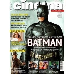 CINEMA 6/08 Juni 2008 - Batman