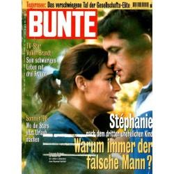 BUNTE Nr.32 / 30 Juli 1998 - Stephanie
