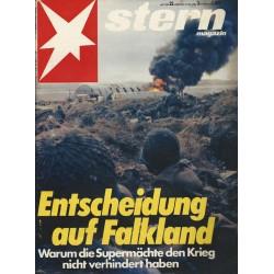 stern Heft Nr.22 / 27 Mai 1982 - Entscheidung auf Falkland