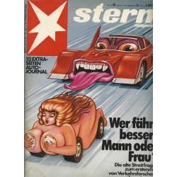 stern Heft Nr.39 / 17 September 1981 - Wer fährt besser: Mann oder Frau?