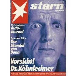 stern Heft Nr.10 / 4 März 1982 - Vorsicht! Dr. Köhnlechner