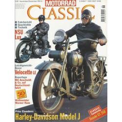 Motorrad Classic 6/95 - Nov./Dez. 1995 - Harley-Davidson Model J
