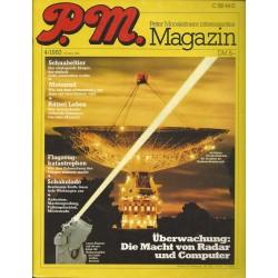 P.M. Ausgabe April 4/1983 - Überwachung: Die Macht von Radar & Computer