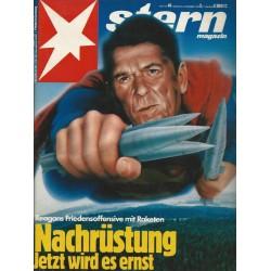 stern Heft Nr.49 / 2 Dezember 1982 - Nachrüstung Jetzt wird es ernst
