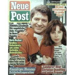 Neue Post Nr.11 / 6 März 1987 - Max Schmeling & Anny Ondra