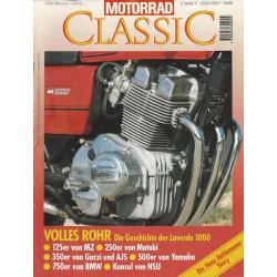 Motorrad Classic 3/94 - Mai/Juni 1994 - Volles Rohr: Die Geschichte der Laverda 1000
