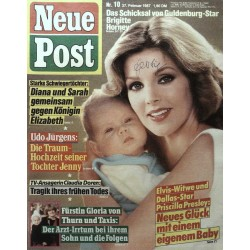 Neue Post Nr.10 / 27 Februar 1987 - Priscilla Presley