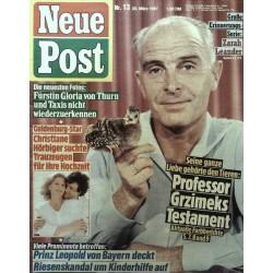 Neue Post Nr.13 / 20 März 1987 - Professor Grzimeks