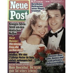 Neue Post Nr.17 / 16 April 1987 - Denverstar John James