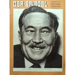 Der Spiegel Nr.1 / 4 Januar 1956 - Arbeitsminister Storch