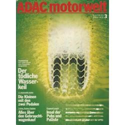 ADAC Motorwelt Heft.3 / März 1979 - Der tödliche Wasserkeil