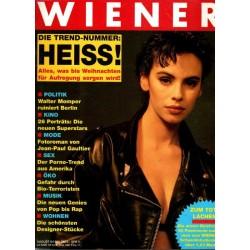 Wiener Heft Nr.8 / August 1990 - Mathilda May