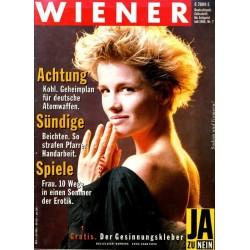 Wiener Heft Nr.7 / Juli 1986 - Barbara von Talents