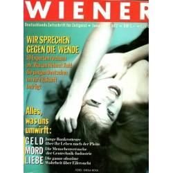 Wiener Heft Nr.1 / Januar 1987 - Alles was uns umwirft