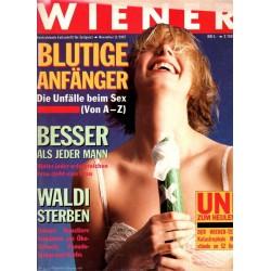 Wiener Heft Nr.11 / November 1987 - Blutige Anfänger