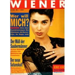 Wiener Heft Nr.7 / Juli 1988 - Wer will mich?