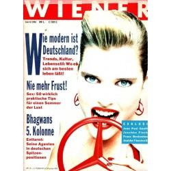 Wiener Heft Nr.6 / Juni 1988 - Wie modern ist Deutschland?