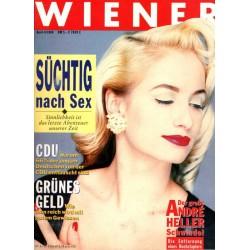 Wiener Heft Nr.4 / April 1988 - Süchtig nach Sex