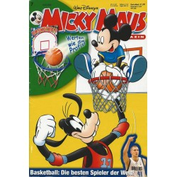 Micky Maus Nr. 7 / 10 Februar 2004 - Basketball