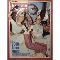 Frankfurter Illustrierte Nr.9 / 4 März 1962 - 2000 Jahre Mainz