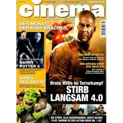 CINEMA 7/07 Juli 2007 - Stirb Langsam 4.0