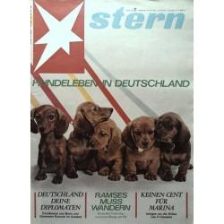 stern Heft Nr.21 / 24 Mai 1964 - Hundeleben in Deutschland