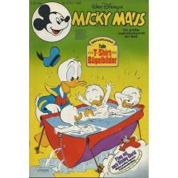 Micky Maus Nr. 27 / 5 Juli 1983 - Tolle T-Shirt Bügelbilder
