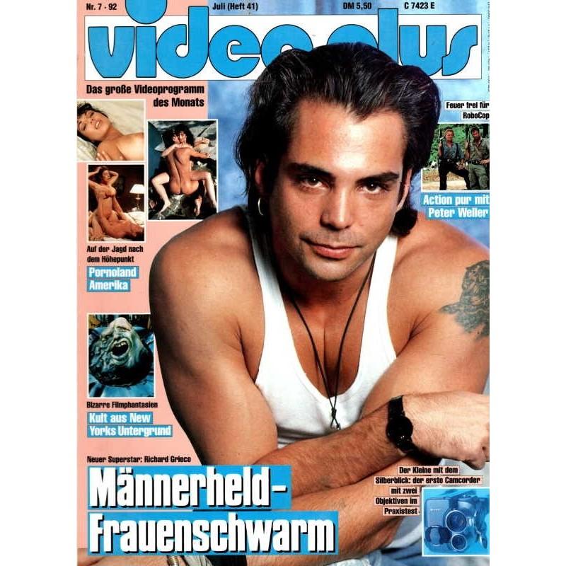 Video Plus 7/92 Juli 1992 - Richard Grieco
