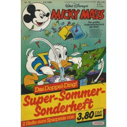Micky Maus Nr. 32 / 2 August 1986 - Das Doppel-Ding!