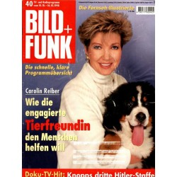 Bild und Funk Nr. 40 / 10 bis 16 Oktober 1998 - Carolin Reiber