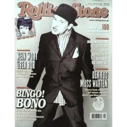 Rolling Stone Nr.11 / November 2000 & CD Vol. 39 - Bono