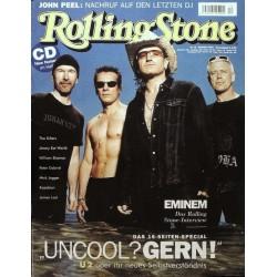 Rolling Stone Nr.12 / Dezember 2004 & CD Vol. 68 - U2