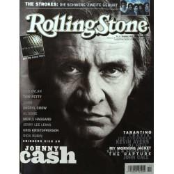 Rolling Stone Nr.11 / November 2003 & CD Vol. 30 - Johnny Cash