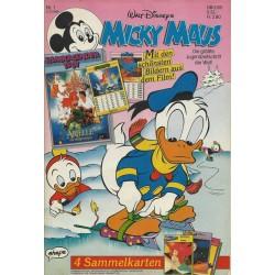 Micky Maus Nr. 1 / 27 Dezember 1990 - Filmkalender 1991