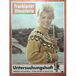 Frankfurter Illustrierte Nr.43 / 22 Okt. 1961 - Karin Baal